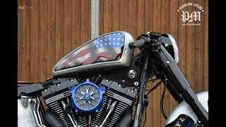 ⛔ 2019 #HarleyDavidson #Softail #FatBoy #Bobber #custombikes by PM American Cycles