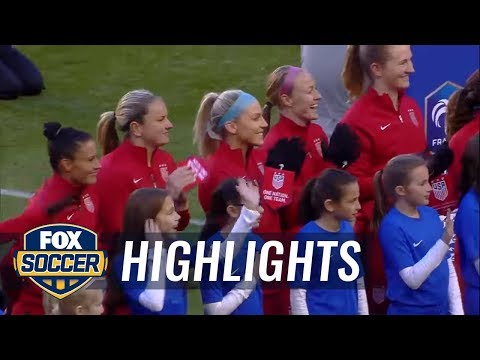 USA vs. England | 2017 SheBelieves Cup Highlights | FOX SOCCER