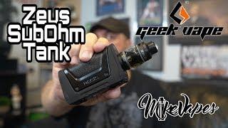 Geek Vape Zeus Top Airflow Sub Ohm Tank & New Aegis Legend