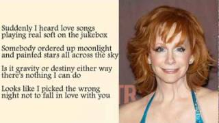 Reba Mc Entire - Wrong Night with Lyrics