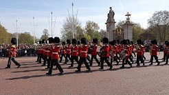 Changing Of The Guard At Buckingham Palace, 19.04.2019.