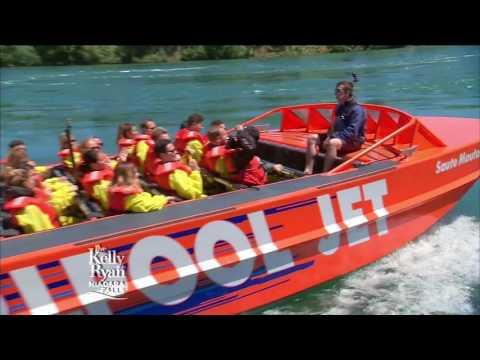 Ryan Seacrest Experiences Niagara Falls
