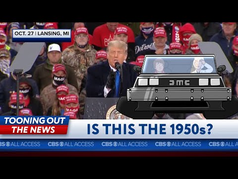 Marty McFly and Doc mistake 2020 for the 1950s
