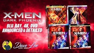 X-men Dark Phoenix - Blu-ray 4k Dvd Announced Andamp Detailed
