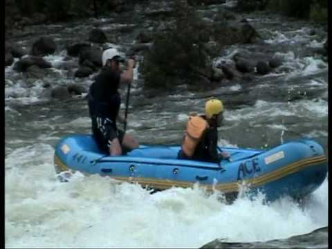 Gauley river 2009. Surfing Hungry Mother.