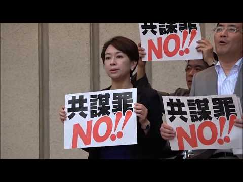 山尾志桜里議員 5・31共謀罪法案の廃案を求める市民の集いでのスピーチ 2017年5月31日