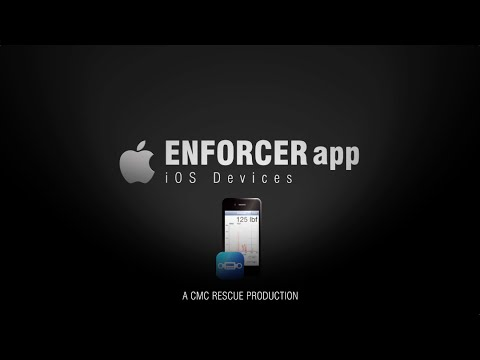 Download The Enforcer App for iOS Devices - Static Forces & Dynamic Events | CMC Enforcer Load Cell Kit App
