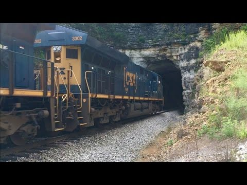 Ancient L&N Railroad Tunnels, Herzog Train & Country Cemetery! Orlando Ky