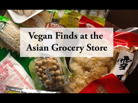 My Vegan Finds at the Asian Grocery Store