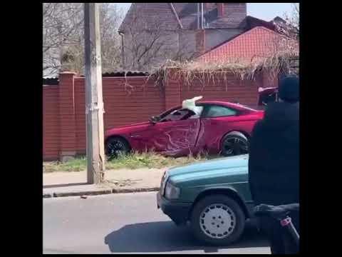 Погоня и ДТП в Одессе
