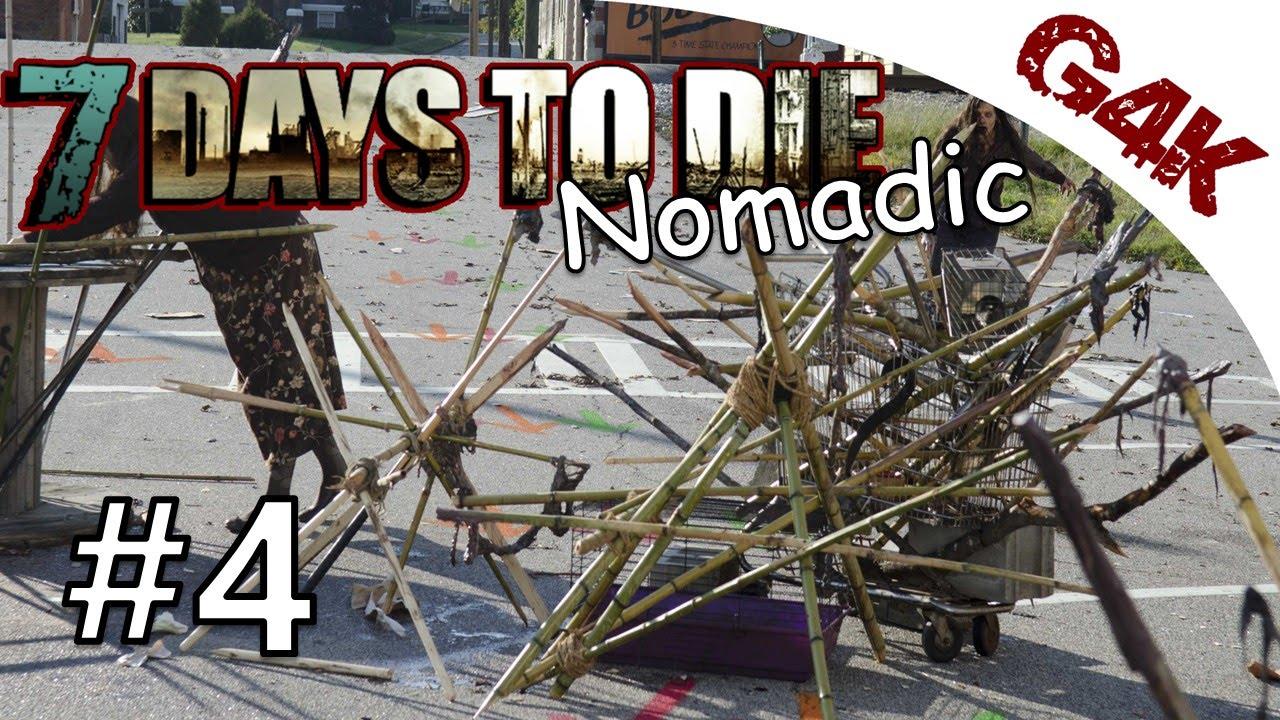 7 days to die nomadic let 39 s play zombies hate wood for Wood floor 7 days to die