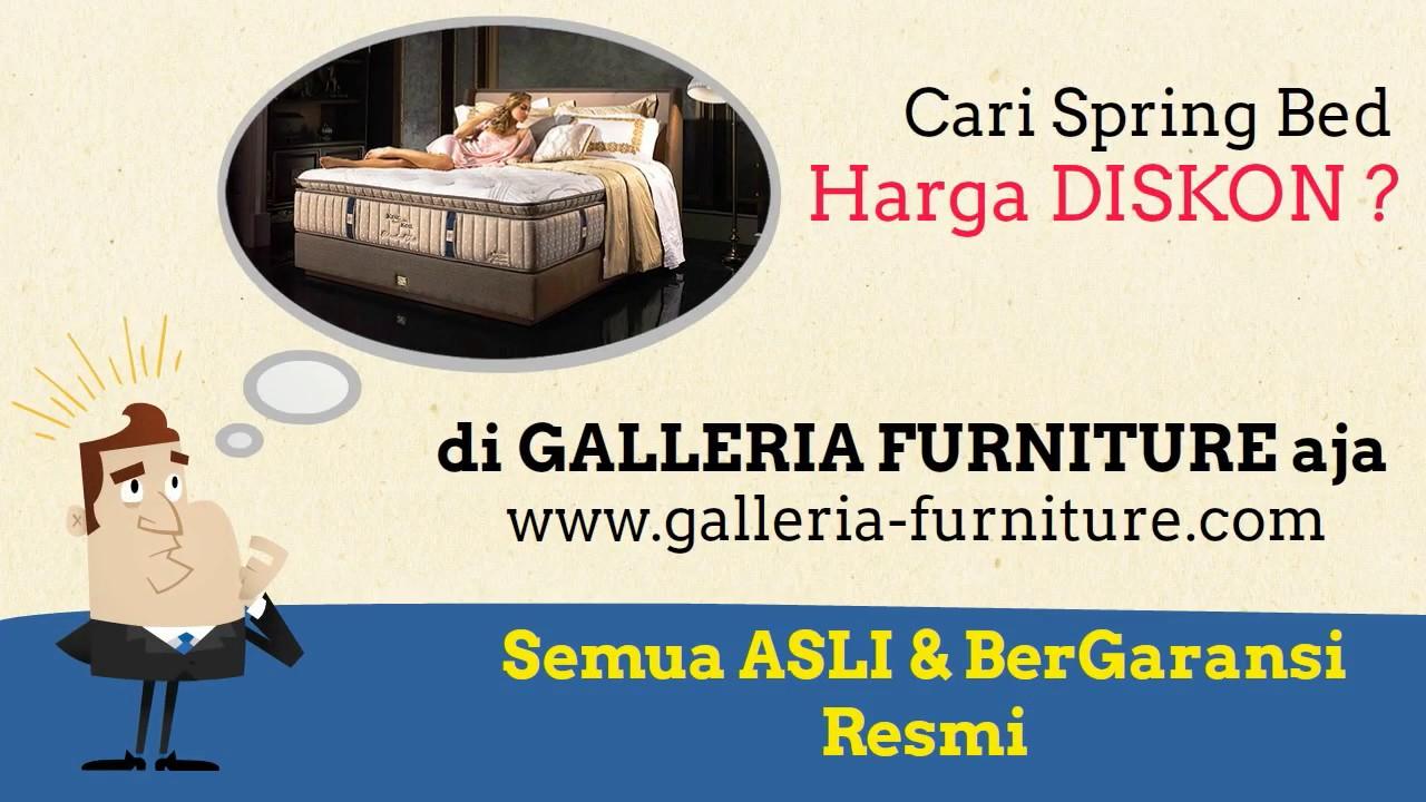 Galleria Furniture Pusat Spring Bed Aneka Merk