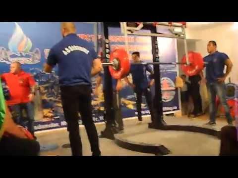 Tarverdiyev Elmir - WPC European Championships 2014 In Baku Azerbaijan  187.5 Kq  No Lift