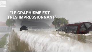 Ouragan Florence: ces animations de la chaîne météo américaine montre son extrême dangerosité