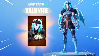 NEW SKIN VALKYRIE on FORTNITE BATTLE ROYALE!