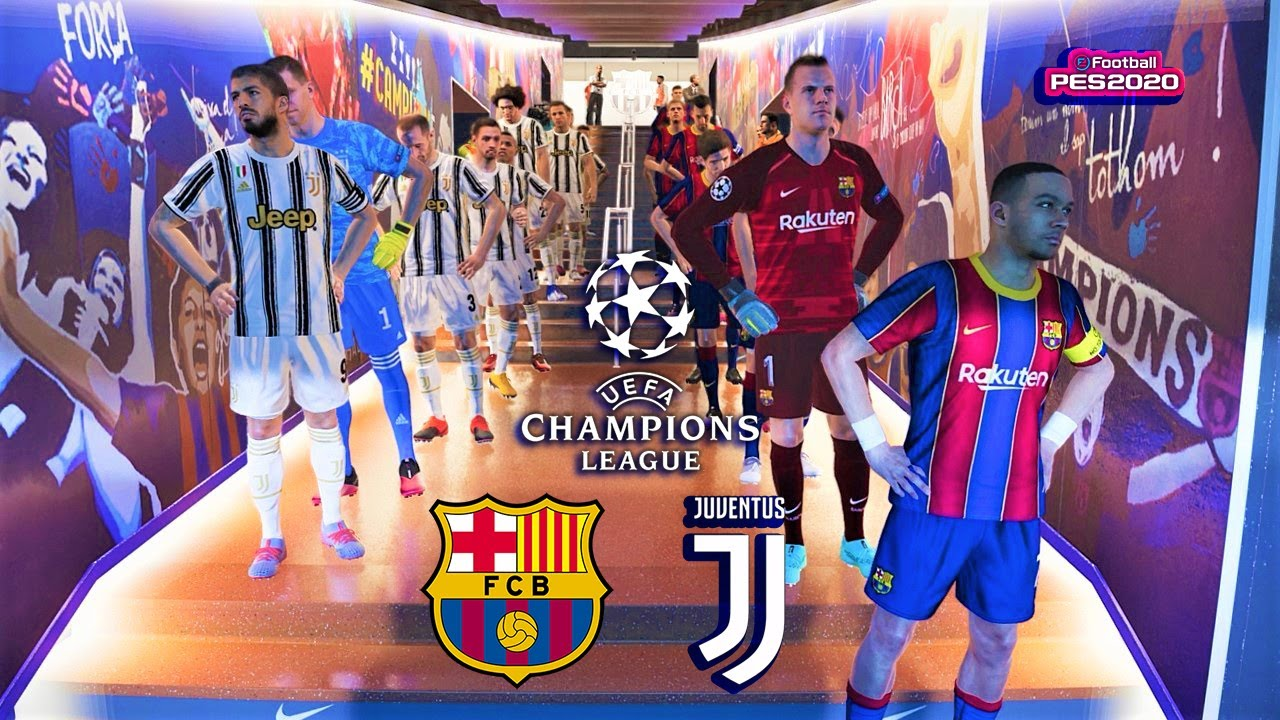 Barcelona Vs Juventus Potential Lineup 2020 2021 Uefa Champions League Pes 2020 Youtube