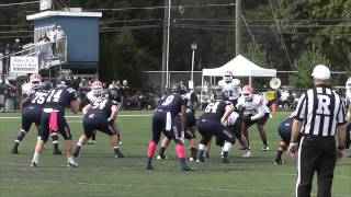 Wesley College 56, Louisiana College 21 (Oct. 4, 2014)