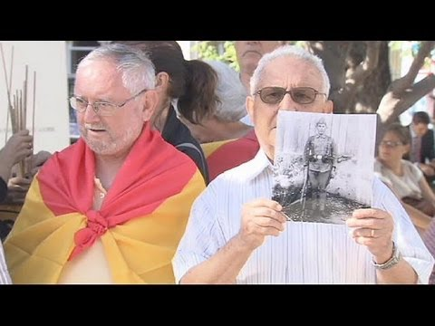 Fresh Madrid protests over Franco-era crimes
