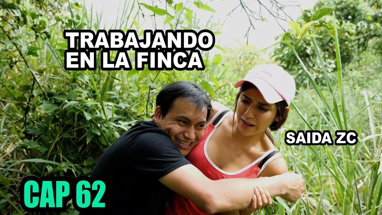 TRABAJANDO EN LA FINCA DE @Saida ZC - MARCOS  OTAVALO CAP 62