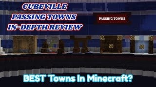 │Cubeville MC │Passing Town Indepth Review │BEST MC TOWNS?