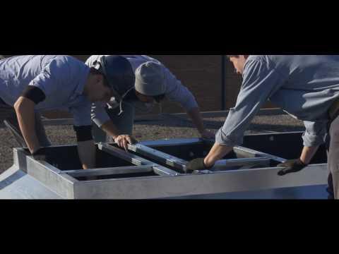 Trane Rooftop Units Installed By Blackrock HVAC Ltd.