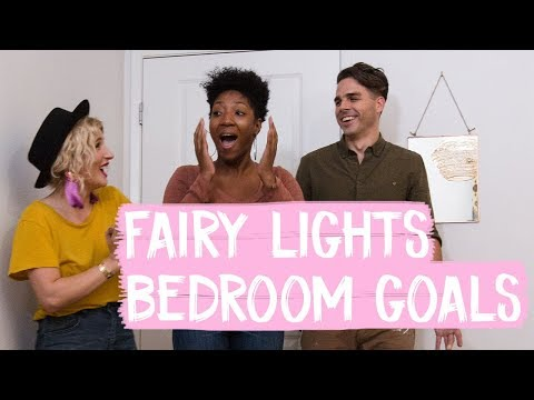 Fairy Lights Bedroom Makeover Goals!  Mr. Kate Decorates