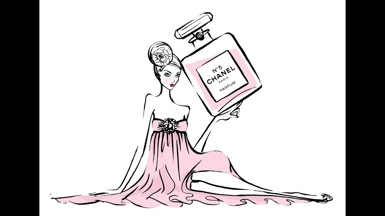 Wallpaper Paris Pink Cute Fashion Illustrator For Chanel Tiffany Amp Co Vouge
