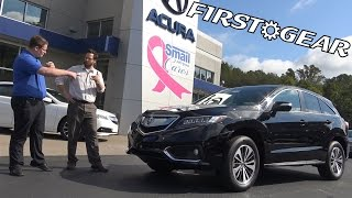 FirstGear -  2017 Acura RDX Advanced - Review and Test Drive