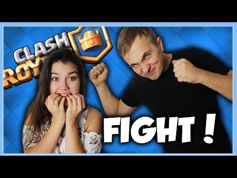 Ewela VS Rafa -O ŚMIETANĘ  W TWARZ ! |Clash Royale