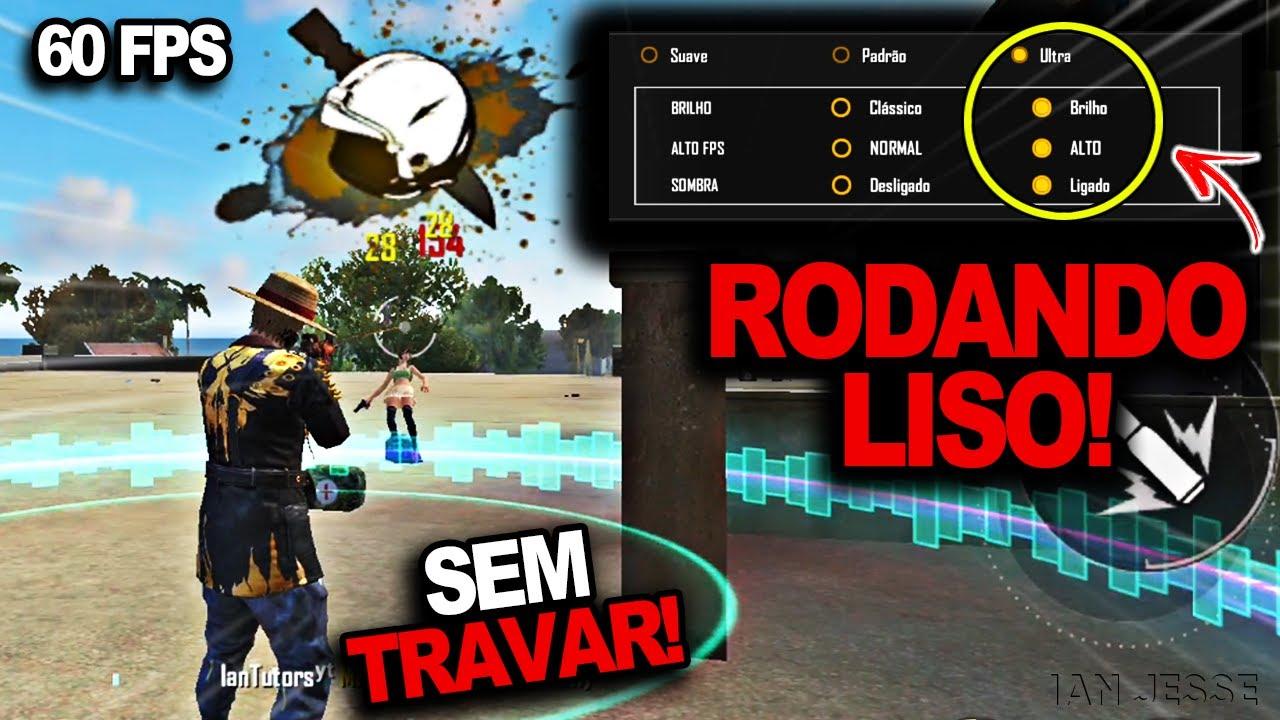 RODANDO LISO😱! Como Jogar Free Fire SEM LAG e SEM TRAVAMENTOS no Celular Android
