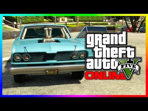 "GTA 5 NEW ""Vapid Blade"" Hipster DLC Car IN GTA 5! Hipster Update Car (GTA V)"
