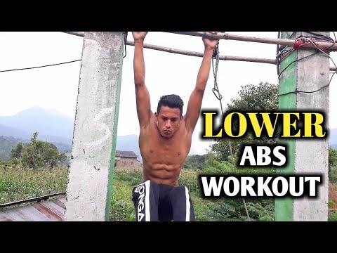 Lower abs Workout | ANISH FITNESS