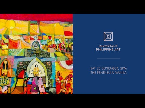 Important Philippine Art : Malang / The Well Appointed Life 2017