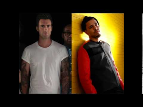 Maroon 5 Ft. J. Cole Animals (Remix) LYRICS