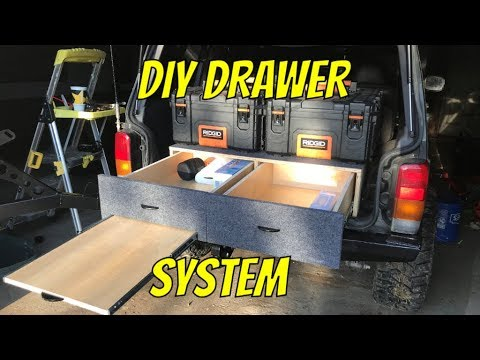 EASY DIY Vehicle Drawer System E54
