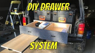EASY DIY Vehicle Drawer System E54