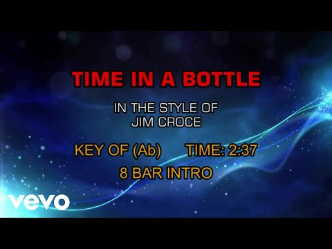 Jim Croce - Time In A Bottle (Karaoke)
