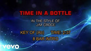 Gambar cover Jim Croce - Time In A Bottle (Karaoke)