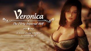 Сексуальная компаньонка Вероника в Скайриме