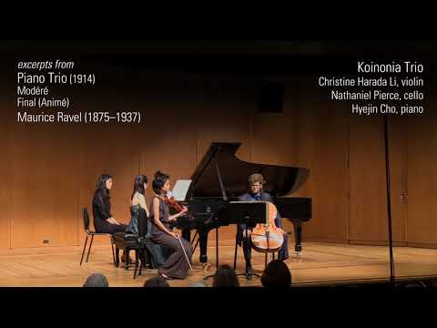 Briggs Chamber Music Competition Winners Concert (excerpts)