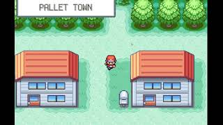 Pokemon Fire Red Gameplay (Unedited)