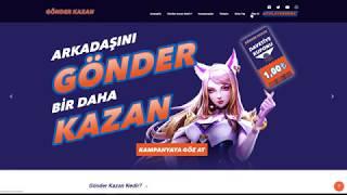 Gönder Kazan'a Nasıl Üye Olurum?