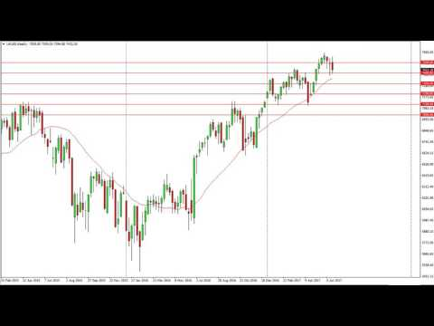 FTSE 100 Technical Analysis for the week of June 26 2017 by FXEmpire.com