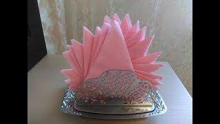 Как красиво сложить салфетки для сервировки стола / How to lay down napkins for table setting