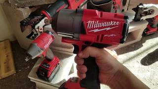 Milwaukee Fuel High Torque One Key Impact Wrench (NEW FOR 2017) ..1000 ft/lbs of Torque #NPS17