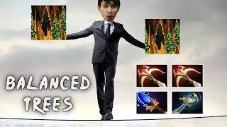 BALANCED TREES FLYING AROUND (SingSing Dota 2 Highlights #1416)