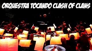 ORQUESTRA TOCANDO CLASH OF CLANS