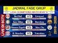 Jadwal Liga Champions Malam Ini, LIVERPOOL, BARCELONA, MAN.CITY,MUNCHEN LIVE SCTV ~ Matchday 6