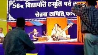 MAITHILI SONG KI KAHAB HE SAKHI RATUK BAAT SUNG BY RANJANA JHA TABLA  PAWAN MISHRA LIVE AT PATNA