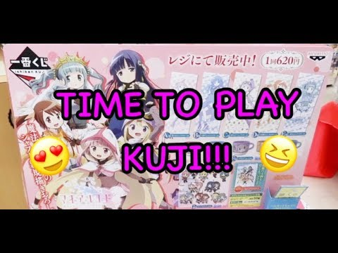 TIME TO PLAY KUJI!!!